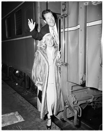 Leaving for San Francisco, 1951
