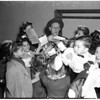 Examiner Christmas show at Shrine, 1945