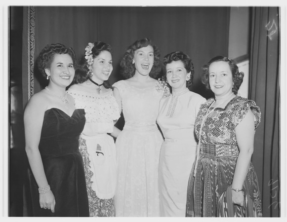 Pan-American Day dinner, 1951