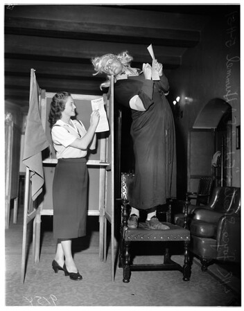 University of California Los Angeles elections, 1951