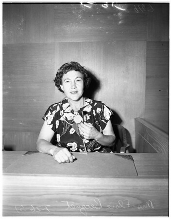 McCracken trial, 1951