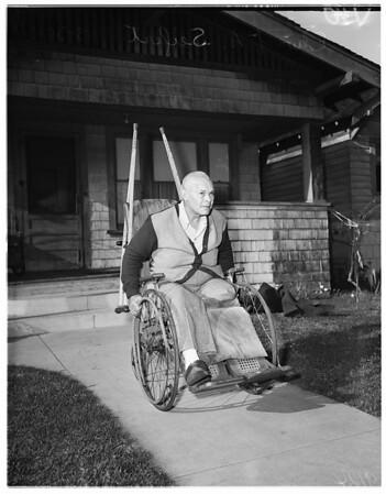 Seifert...wheel chair, 1951