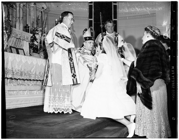 O'Brien Confirmation, 1951