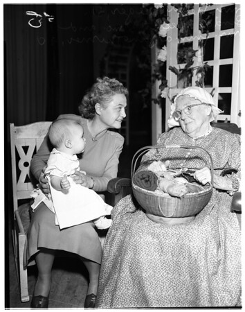 7th Day Adventist Mother's Day program (grandmother of today), 1951