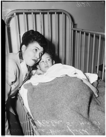 Playground accident, 1951