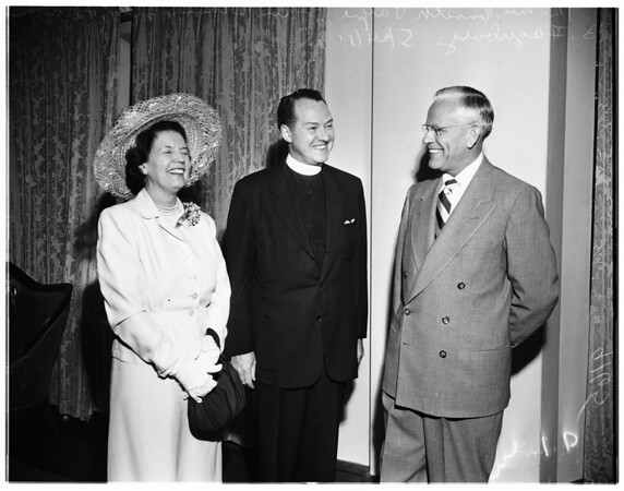 Church federation officers, 1951