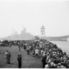 "Arrival of USS ""Missouri"" (Long Beach Harbor), 1951"