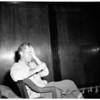 Extortion suspect, 1951