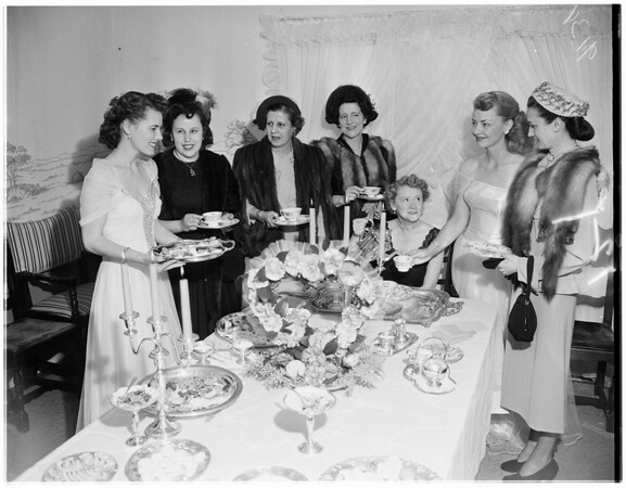 Women's Christian Service, 1951