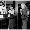 """Mohican"" hair cut (girl at work), 1951"