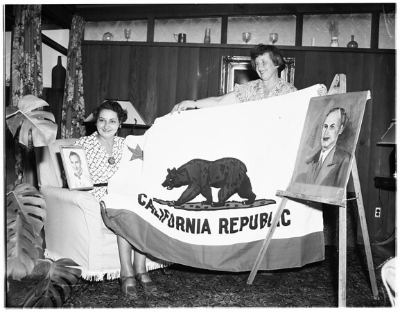 Flag to Korea, 1951
