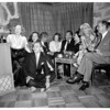 Mrs. Huntington Hartford party for Miss Marion Davies, 1951