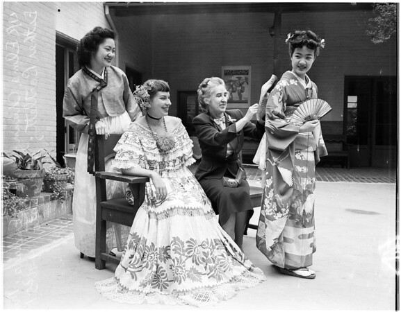 Costume festival, 1951