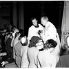 Catholic youth organization mass (Blessed Sacrament Church), 1951