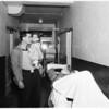 Ross Valley injured in crash (Valley Hospital), 1951