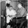First Korean vets to enter Wadsworth Hospital, 1951