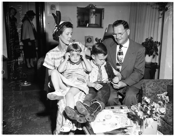 Custody battle by grandparents, 1951
