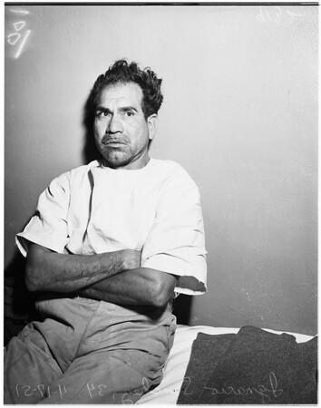Rape suspect, 1951