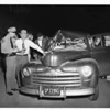 Auto Accident -- Slauson, 1/2 mile East of Sepulveda, 1951