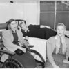 Bus accident victims (Hollywood RRC Hospital), 1951