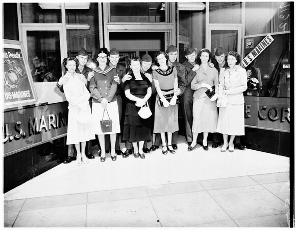 "Marine ""Moms"", 1951"
