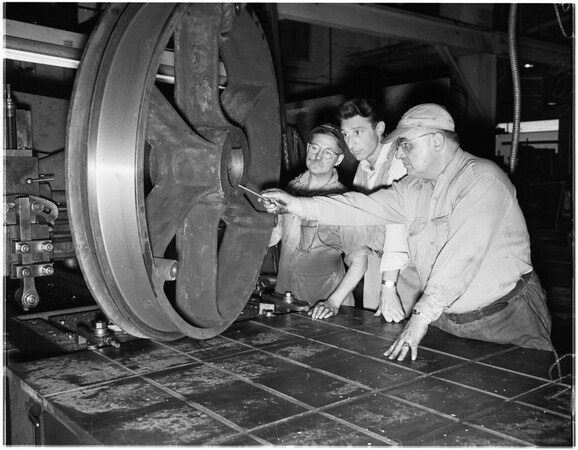 Angels flight machinery, 1951