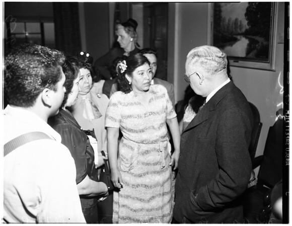 Chavez Ravine sit down strike, 1951