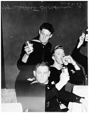 Five Grossman in the service, 1951