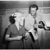 Red Skelton and wife, 1951
