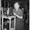 Former member of visitor staff of General MarArthur headquarters, 1951
