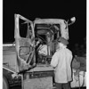 Truck burned (San Fernando Road), 1951