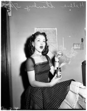 """Miss Smog Fighter"", 1951"