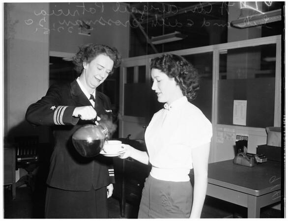 Five Grossman in the service, 1951