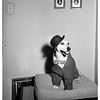 Costumed dog, 1951