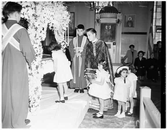 Greek God Friday, 1951