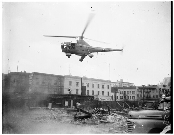 Disaster drill (Red Cross), 1951