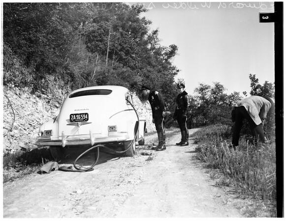 Suicide...monoxide, 1951