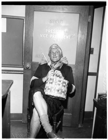 University of California Los Angeles election gag, 1951