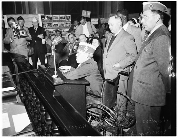 Public hearing on housing, 1951