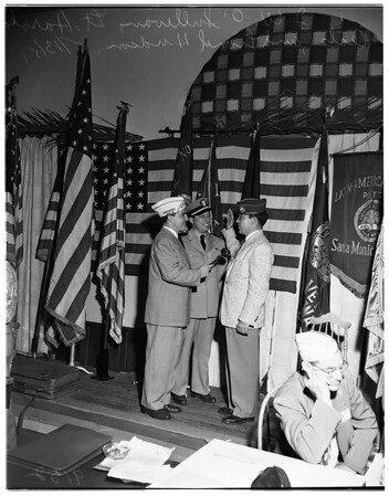 Amvets convention, Santa Monica, 1951