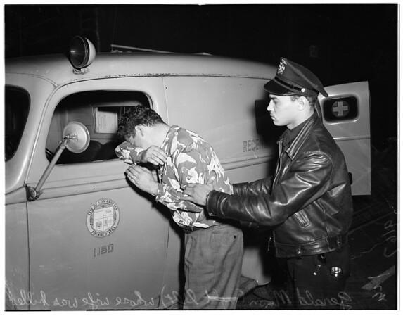 Missing girl story, 1951