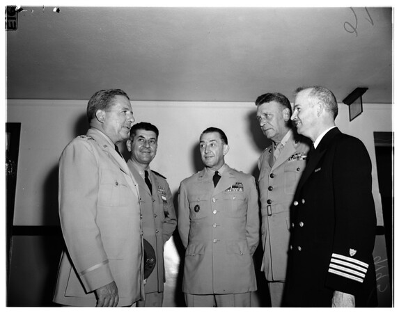 25th national conference reserve officers, 1951
