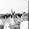 Belhart Bridge opening (Long Beach), 1951