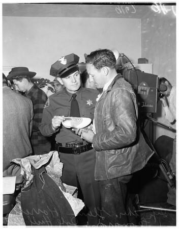 Missing girl found, 1951