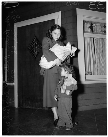 Kids at Juvenile Hall, 1951