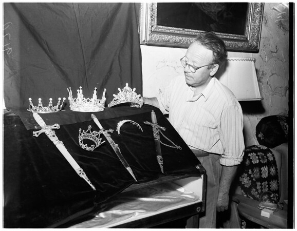 Maker of crown jewels, 1951