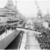 "Arrival of USS ""Missouri"" (Long Beach Harbor), 1951"