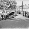 Auto accident at Franklyn and Beachwood, 1951