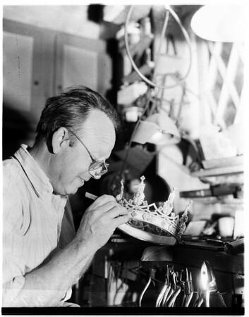 Maker of crown jewels, 1951