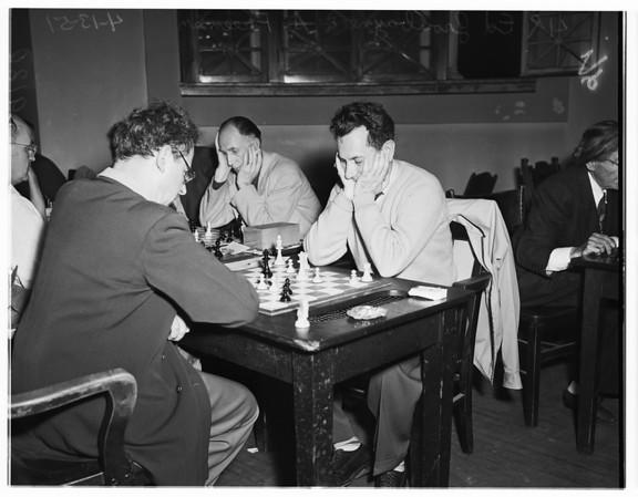 Chess tournament, 1951